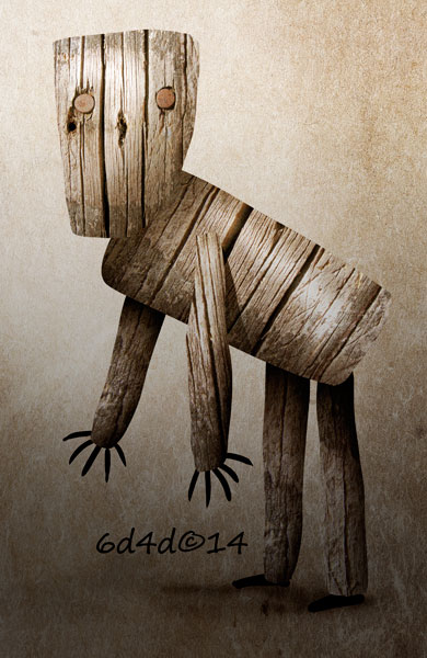 wood puppet