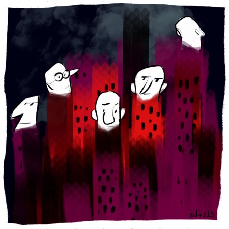 city 6dilly4dally illustration