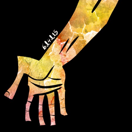 Stone hand 6dilly4dally illustration